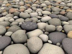 You may seem like one of many. Nothing different or special. But God knows exactly which pebble you are. With Him there is no question. You are unique.