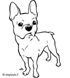 Koira värityskuvia   19 ilmaista   Lasten värityskuvat - DogiStyle