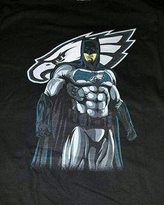 #Batman is an #EaglesFan I knew it!