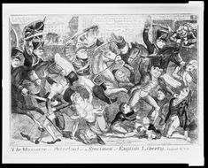 Before the Butchery- The Manchester Cavalry beforePeterloo