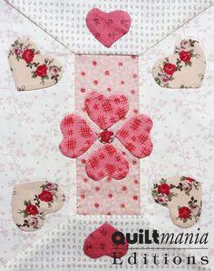 Bloc 6 - Block 6  Découvrez ce bloc GRATUIT avec son patron sur Quiltmania.fr. Let's discover this FREE block (and its pattern) on quiltmania.com