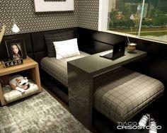 Dormitório Solteiro Jovem Vista 1