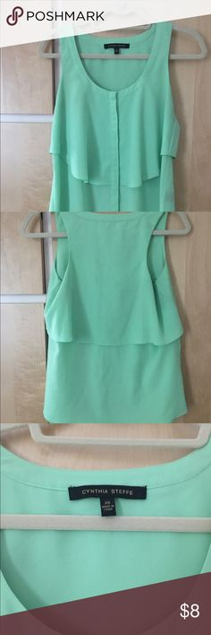 Mint Green Ruffle Blouse 26
