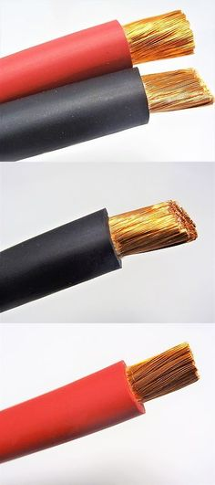 other electrical and solar red black 2 0 gauge ofc copper welding cable lead