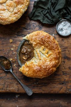 A delicious and classic Beef & mushroom pie recipe