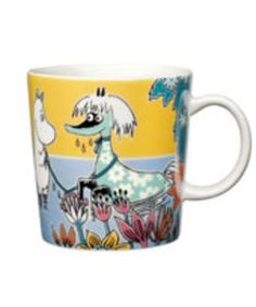 "A new Moomin character mug ""Primadonna's horse"" by Arabia, designed by Tove Slotte Nordic Home, Scandinavian Home, Les Moomins, Moomin Mugs, Geek Cave, Tove Jansson, Home Decor Online, My Collection, Marimekko"