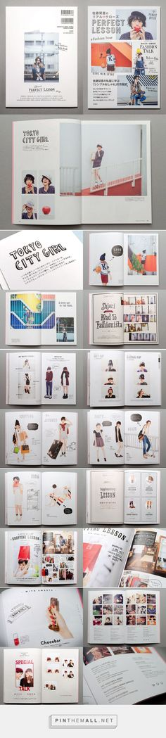 SHIORI SATO fashion book : Book Design & Illustration | GRAPHITICA Inc. - created via https://pinthemall.net