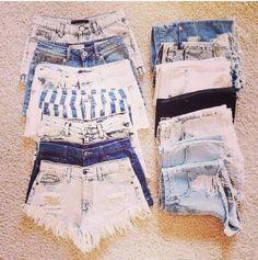 8094333bc 77 melhores imagens de short | Fashion outfits, Denim shorts e ...