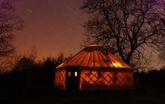 Yurt glamping at The Yurt Farm