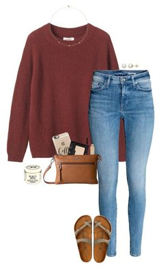 """""""can't wait for cooler weather"""" by gabyleoni on Polyvore featuring Toast, Loren Stewart, Honora, American Eagle Outfitters, Casetify, NARS Cosmetics, Stila, Lodis and Burt's Bees"""