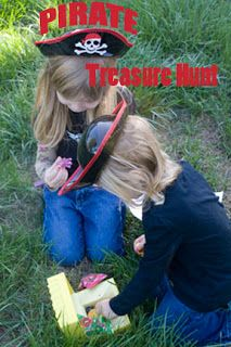 Pirate Treasure Hunt from Life with Moore Babies