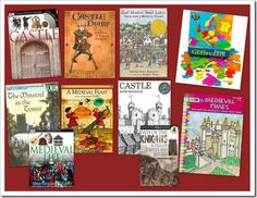Castles, knights, and a medieval village unit study and extensive booklist I did with my children.  Loved this so much and so did the kids!