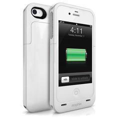 Единственный чехол для iPhone, который не противоречит его дизайну имхо. + Увеличивает время работы.