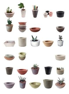 Vase Beton - Welcome my homepage Cement Garden, Cement Art, Concrete Cement, Concrete Crafts, Concrete Projects, Concrete Design, Concrete Planters, Diy Planters, Ceramic Planters