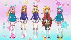 Aine,Akari,Ichigo,Yume and Mio