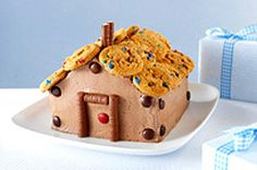 Kids of all ages will love decorating (and eating!) this cute little house.