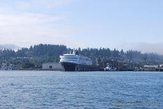 Alaska Ferry Docked at Bellingham