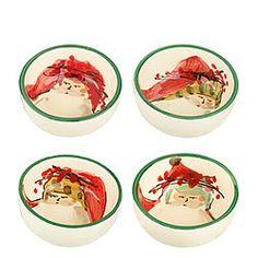 Vietri's Old St. Nick Assorted Condiment Bowls, 4:  www.shopmft.com