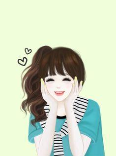 Cute anime y: lovely girl image, girls image, cute girl wallpaper, girl Beautiful Girl Drawing, Cute Girl Drawing, Beautiful Anime Girl, Korean Anime, Korean Art, Anime Korea, Lovely Girl Image, Girls Image, Girly M