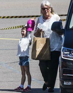 Princess Victoria, Estelle and Oscar returned to Stockholm