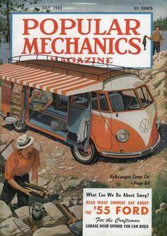 Revista Mecánica Popular. 1955