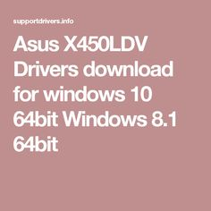 Asus Ethernet Driver Windows 10 64 Bit