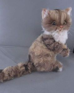 Kandy, persisn tabby kitty By Mikki Klug - Bear Pile