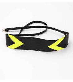 #DIY Neon Belt --- How-to available online at Joann.com