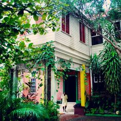 Kingston, Jamaica. 56 Hope Road, home of Robert Nesta Marley. by VisiVidu