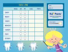 dental-hygiene-chart-for-kids.jpg 1,650×1,275 pixels