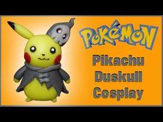 Pokemon | Pikachu Duskull Cosplay Polymer Clay Tutorial | Porcelana Fría ★ Plastilina - YouTube