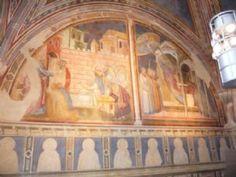 Taddeo Gaddi - Storie del Vangelo - Affreschi - 1330-1350 - Cappella dei Conti Guidi - Castello dei Conti Guidi, Poppi (Arezzo)