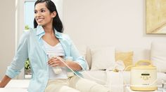 Breastfeeding Tips for Exclusively Pumping Moms - Breastfeeding Tips and Breast Pump Info for Moms from Medela Canada Breastfeeding Benefits, Breastfeeding And Pumping, Breastfeeding Support, New Mummy, Breastmilk Storage Bags, Exclusively Pumping, Pumps, Baby, Mothers