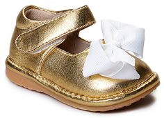 Gold Add-a-Bow Mary Jane #Style #look #fashion #boys #kids #clothes #streetstyle #photooftheday #clothing #fashionstyle #fashioninspo #trend #trends #trendy #styleoftheday #usa #america #clothing #ad #girls
