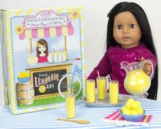 Pretend Play Food, Sophia's Lemonade Serving Set for 18 Inch Dolls, 9 Piece Set *** You can get additional details at the image link.