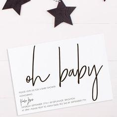 100+ Stunning Printable Baby Shower Invitations #babyshower #printable #invitations