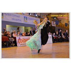 light green  ballroom dance dress #dancesport Aimie Leak and  Sean Smullen saphir cup 2015