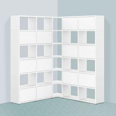 eckregal in alpinwei pinterest eckregal m max und regal. Black Bedroom Furniture Sets. Home Design Ideas