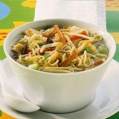 Eat Smarter, Japchae, Ethnic Recipes, Food, 20 Min, China, Breakfast Soup, Noodle Soup, Noodles