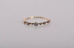 tiny vintage diamond ring ~ so sweet