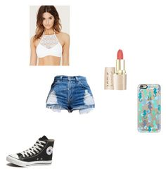 """""""Untitled #119"""" by averyvalclaunch on Polyvore featuring Forever 21, Converse and Casetify"""