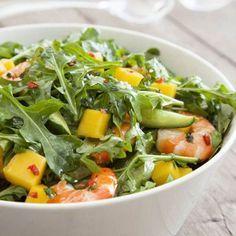 Collect this Mango and Prawn Salad recipe by Australian Mangoes. MYFOODBOOK.COM.AU | MAKE FREE COOKBOOKS