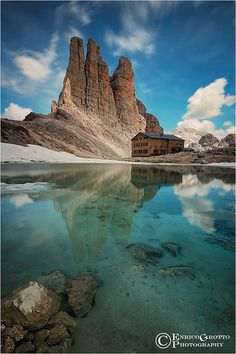 Le Torri Del Re Laurino, Dolomiti / King Laurino's Towers, Dolomites - Italy by Enrico Grotto, via Flickr