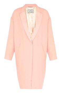 Flurica Crepe Coat - Just in - Shop - London-Boutiques.com #pastel #pink