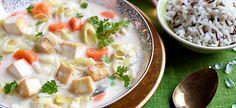 Delhaize - Waterzooi met tofu en fijne groenten, wilde rijst