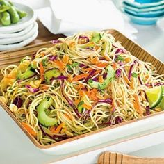 Thai Noodle Salad | This is EXCELLENT!! It taste even better if you let sit in fridge overnight.