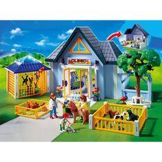 Playmobil - Grand jardin d\'enfants 5024 - Seulement chez Toysrus ...