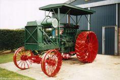 Steel Wheels - The Website for Veteran Tractors Sawyer-Massey 20-40 built in 1918