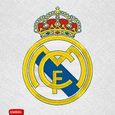 Embroidery design Real Madrid - Embroidery Download - Archivo bordado Real Madrid -   #EmbroideryDownloadCom