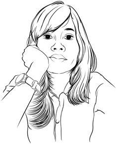 Illustration face.